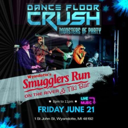 Dance Floor Crush @ Smugglers Run on the River & Tiki Bar