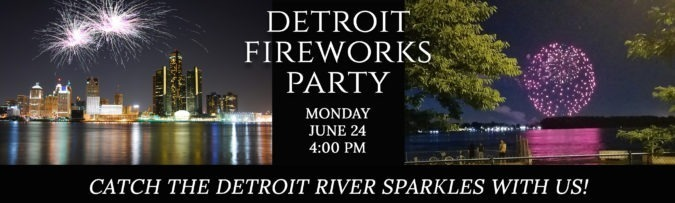 Detroit's Firework Party @ Smugglers Run on the River & Tiki Bar