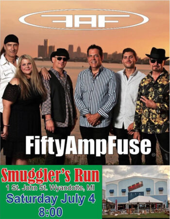 50 Amp Fuse Band Poster
