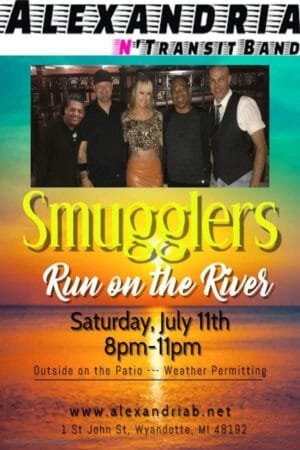 Alexandria N Transit @ Smugglers Run on the River & Tiki Bar
