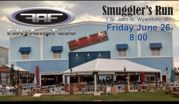 Fifty Amp Fuse @ Smugglers Run on the River & Tiki Bar