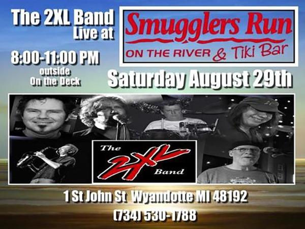 2XL Band @ Smugglers Run on the River & Tiki Bar