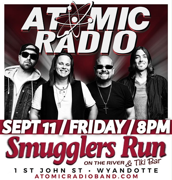 Atomic Radio @ Smugglers Run on the River & Tiki Bar