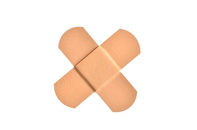bandagecrossed