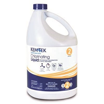 Kem-Tek Chlorinating Liquid - 1 GAL (3-Pack)