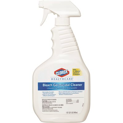 Clorox 32 oz. Healthcare Bleach Germicidal Cleaner Spray