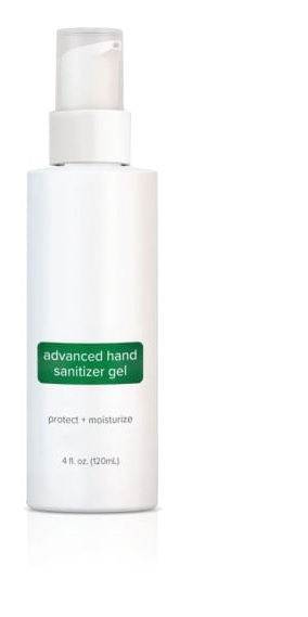 ADVANCED HAND SANITIZER GEL - 8OZ PUMP BOTTLE (CASE OF 24)