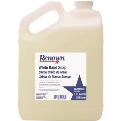 1 Gal Lotion Hand Soap White (CASE OF 4 GALLONS)