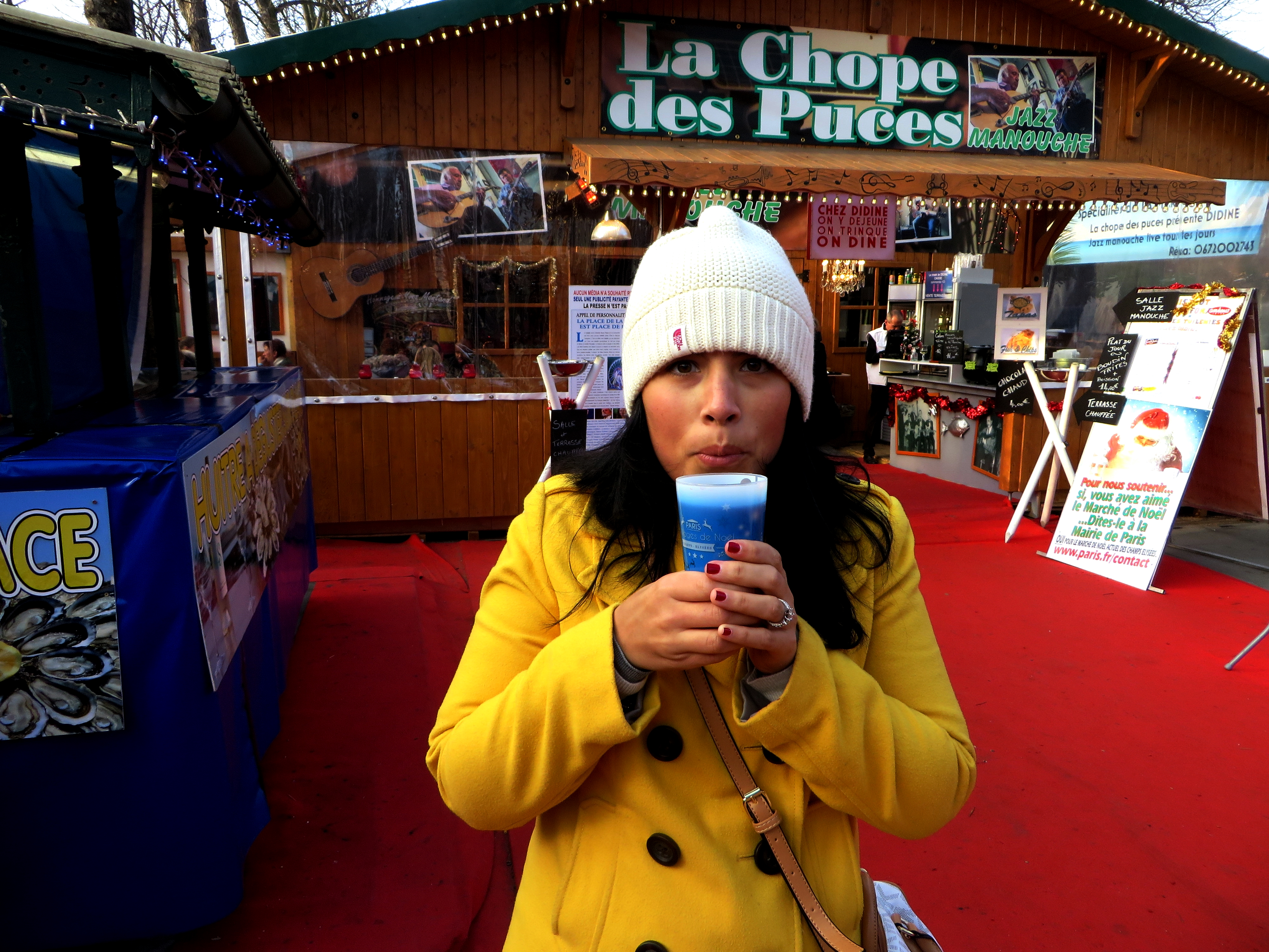 Don't forget to try your mulled wine while in Paris!