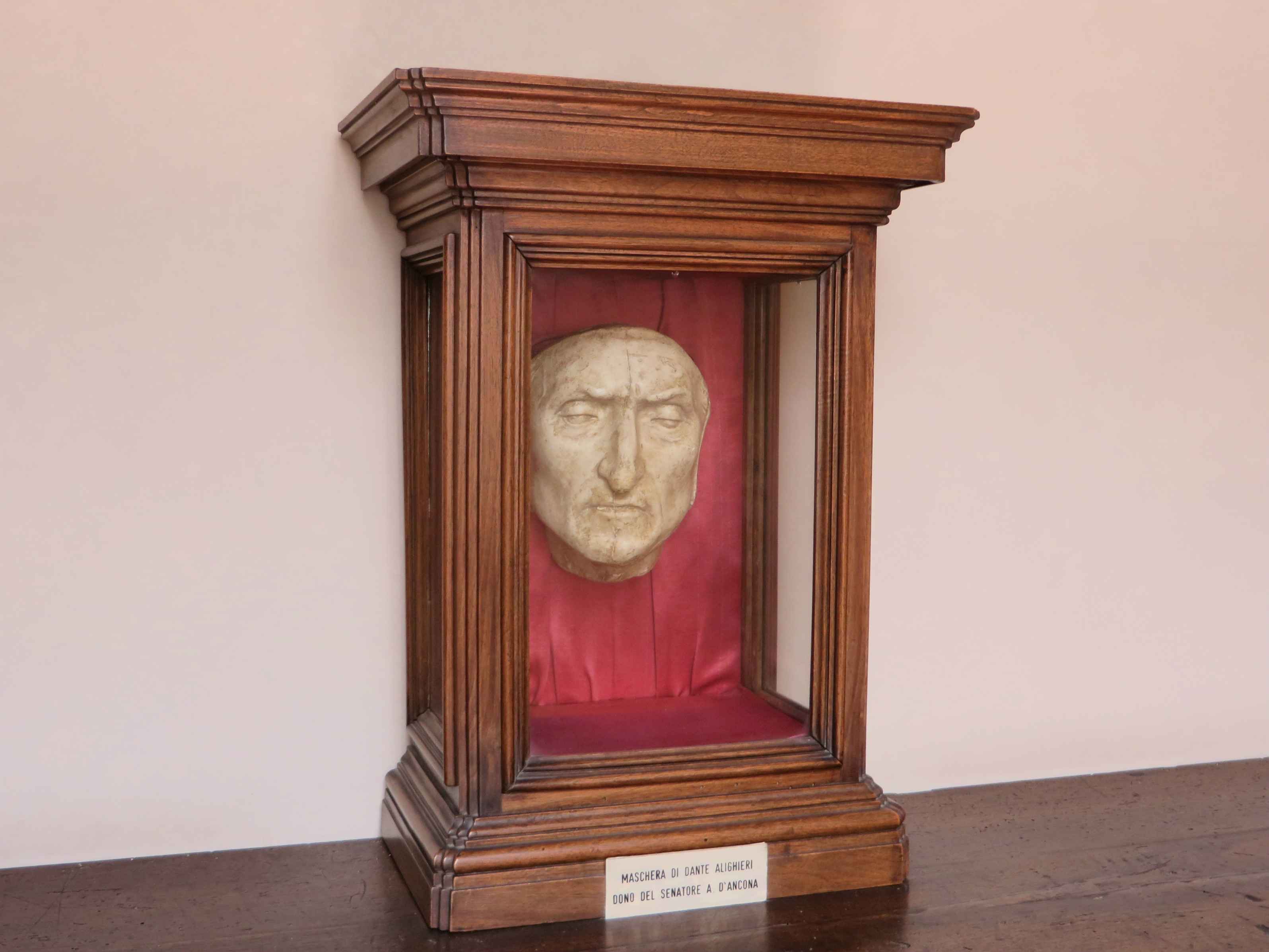 Dante's Death Mask, Florence