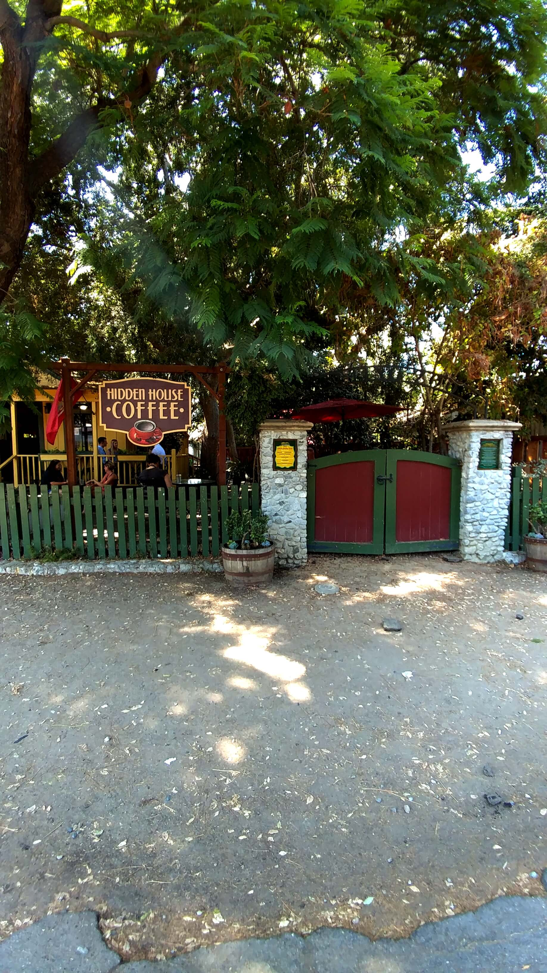 Hidden house Coffee Shop, Los Rios Street, San Juan Capistrano