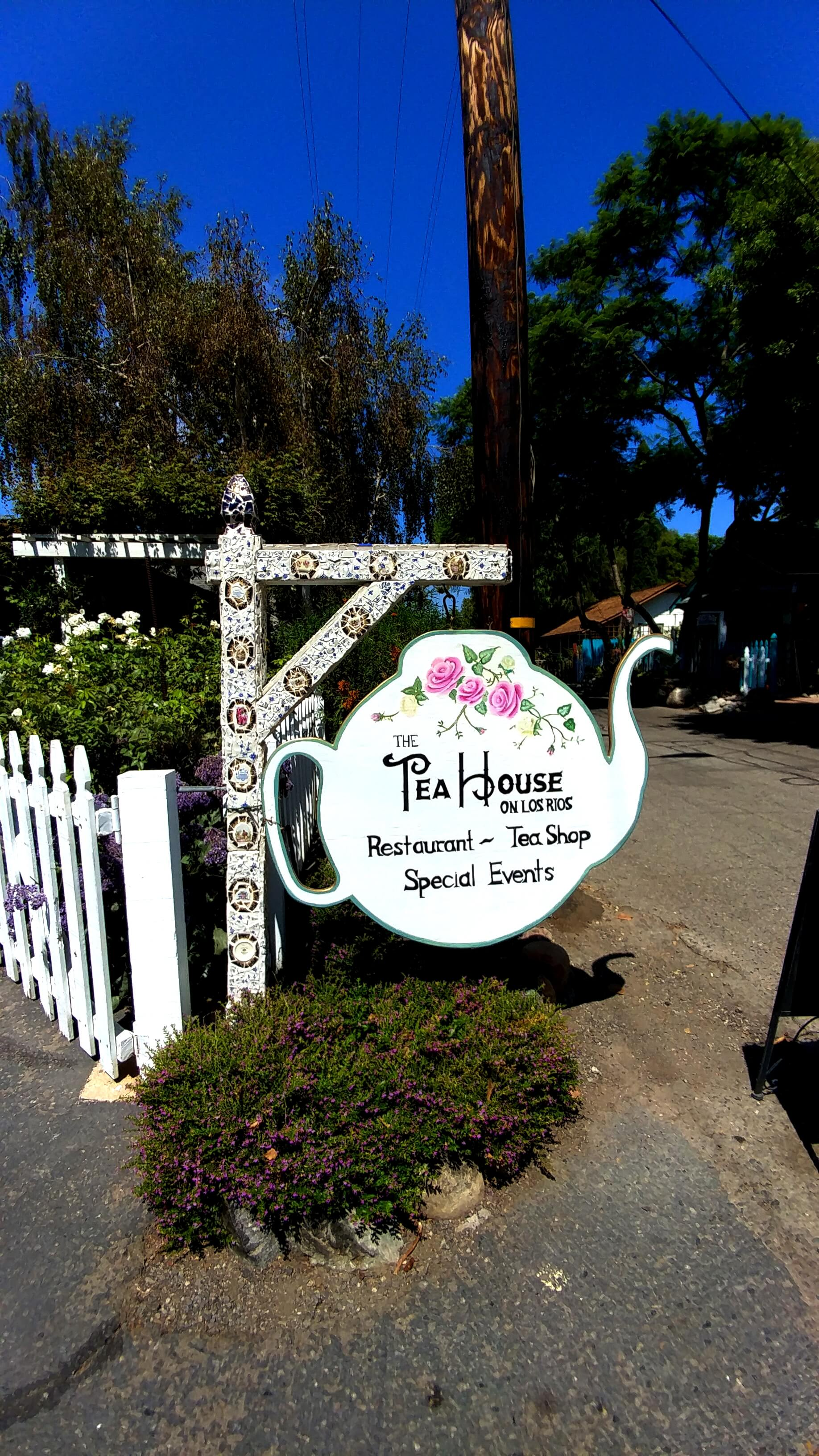 The Tea House on Los Rios, San Juan Capistrano