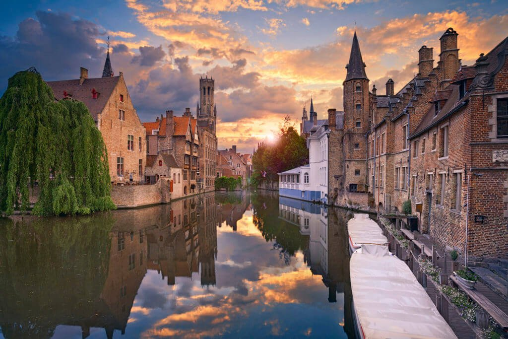January in Bruges