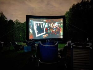 Outdoor Movie screen rental