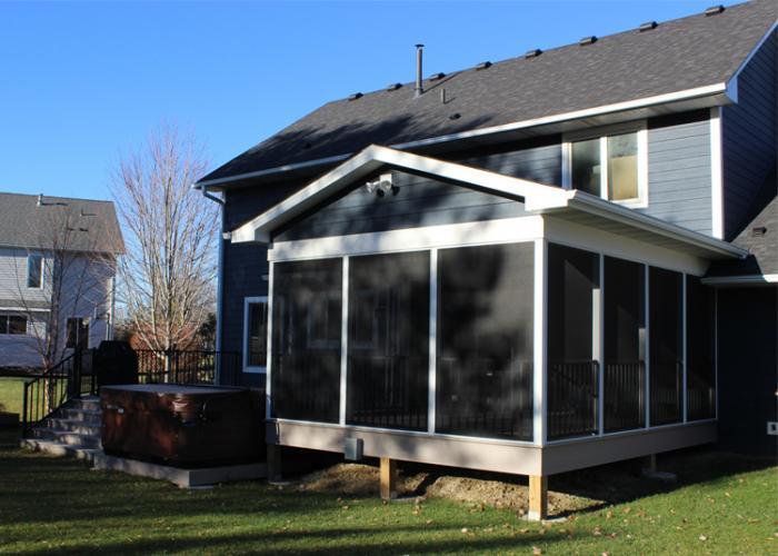 Exterior Back Porch