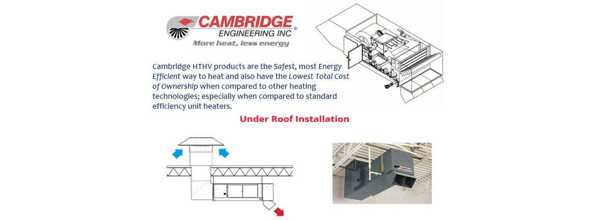Under Roof Installation