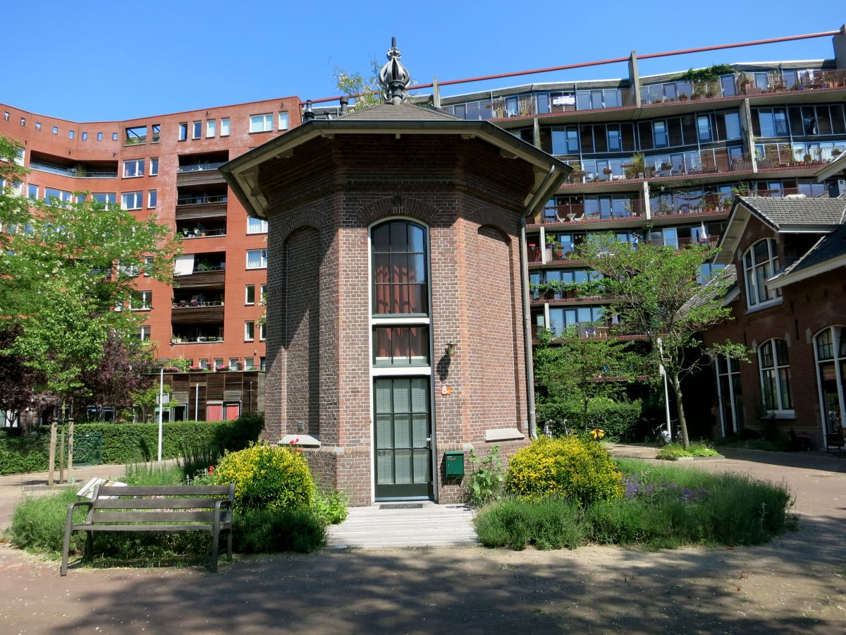 Hotel de Windketel was built in 1897 as part of Amsterdam's water works and is now a tiny hotel.