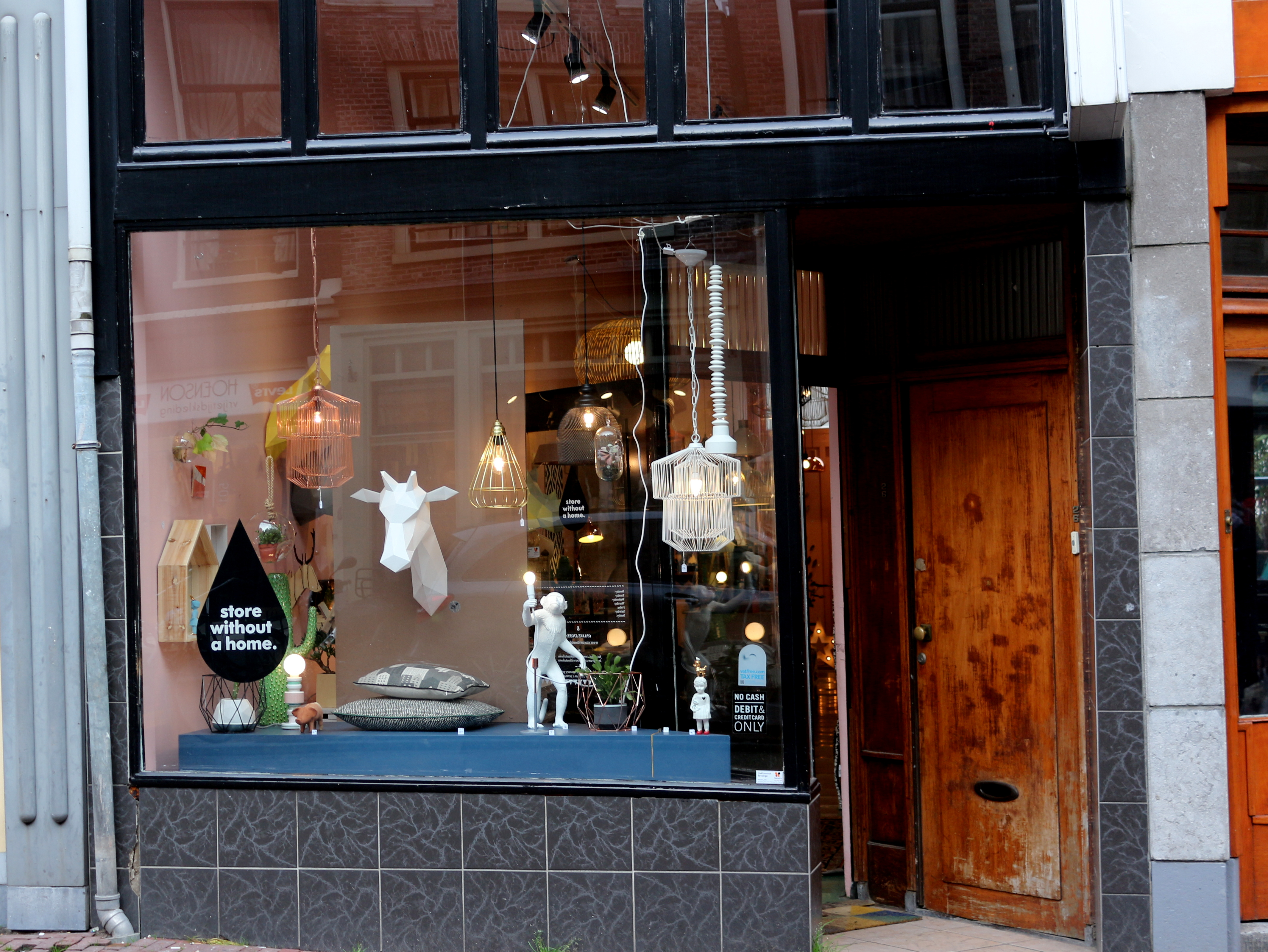 Store Without A Home is a home accessories shop on the charming Haarlemmerdijk. You will find fantastic things for your house and yourself - pop in and take a look! awesomeamsterdam.com