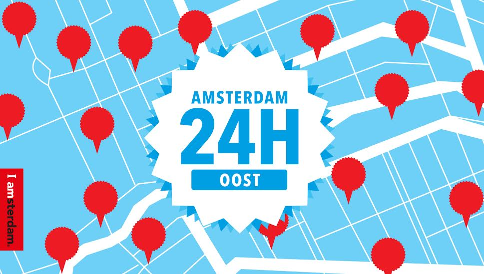 24H Amsterdam aims to reveal the city's secrets by exploring each of its neighborhoods for 24 hours.