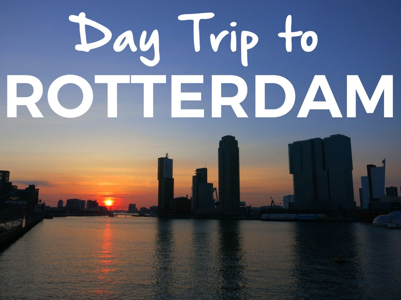 Rotterdam is a large, modern city with lots of interesting sights. Here are a few of our recommendations, some a bit off the beaten track.