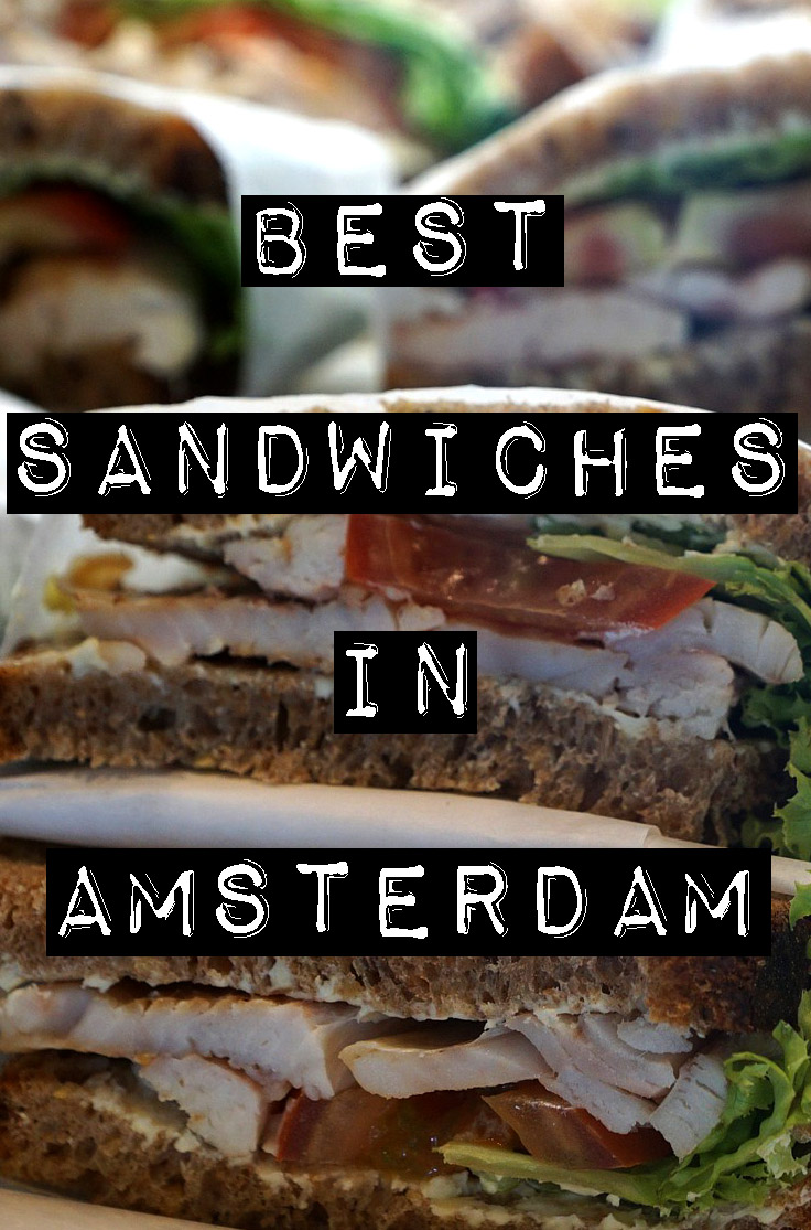 BEST SANDWICHES IN AMSTERDAM - Try some of our favorite sandwiches in Amsterdam, from melted cheesy delights to bread piled high with meats or vegetables.
