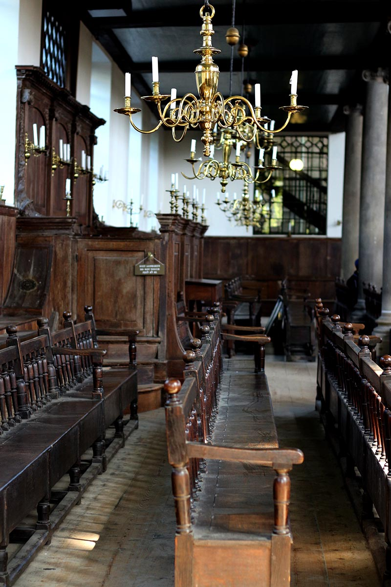 The beautiful Portuguese Synagogue is a special building that should not be missed when in Amsterdam.