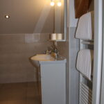 Apartment Penegal, Badezimmer