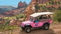Tour Sedona with Pink Jeep