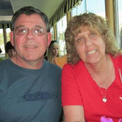 Shirley and Chuck Harwood