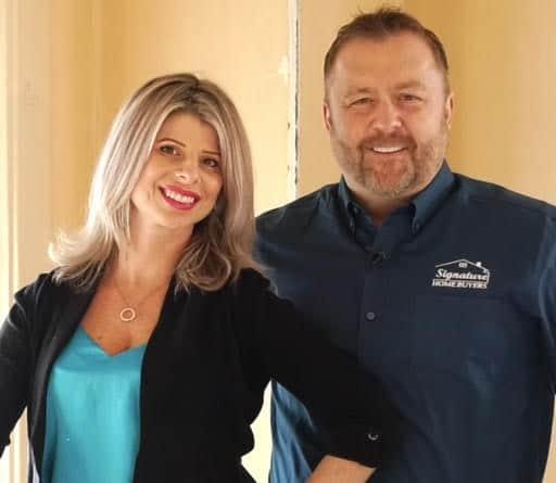 Owners Glenn and Amber