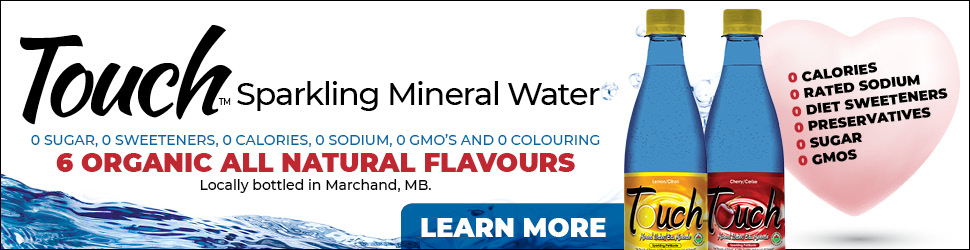 mineral water banner