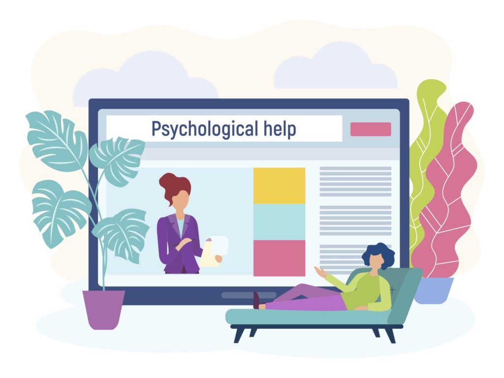 Tele-therapy and online counseling