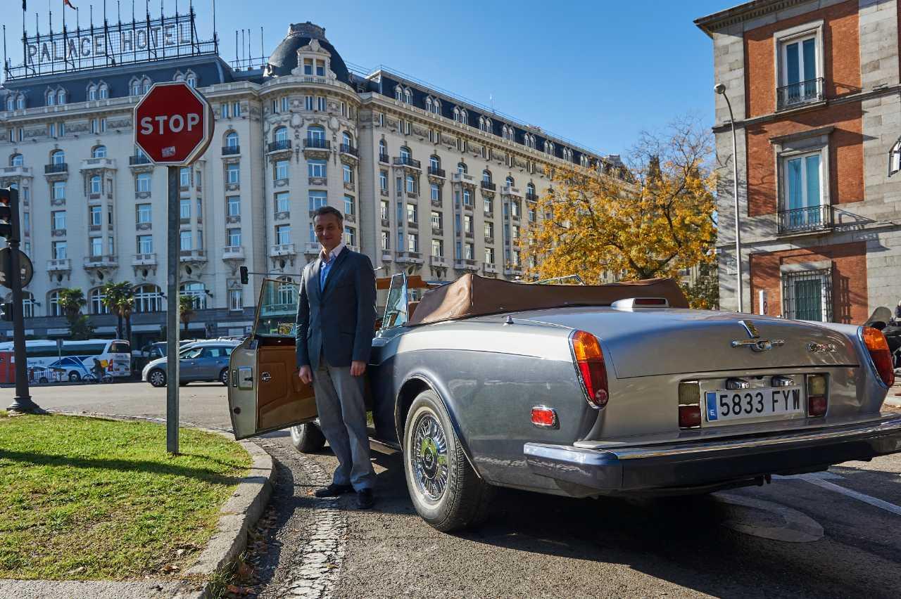 Drive Through Madrid in a Classic Car