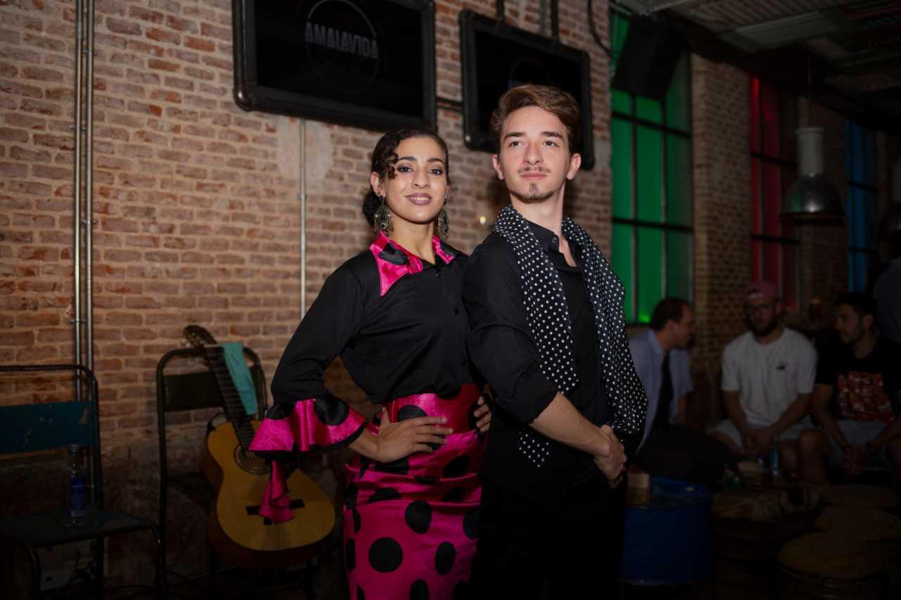 Intimate Flamenco Performance