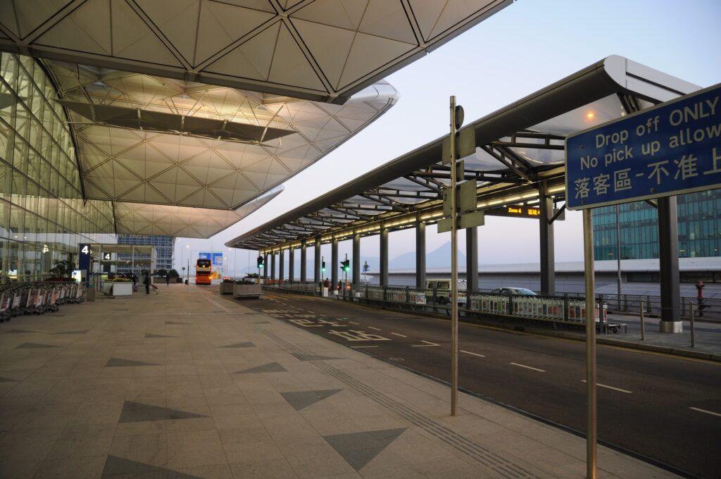 Hong Kong International Airport Webcam
