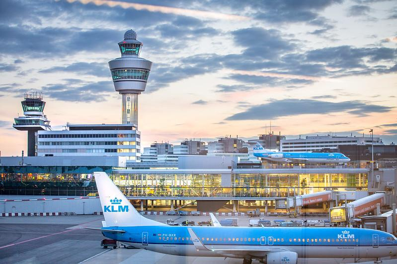 Amsterdam Airport Schiphol Webcams