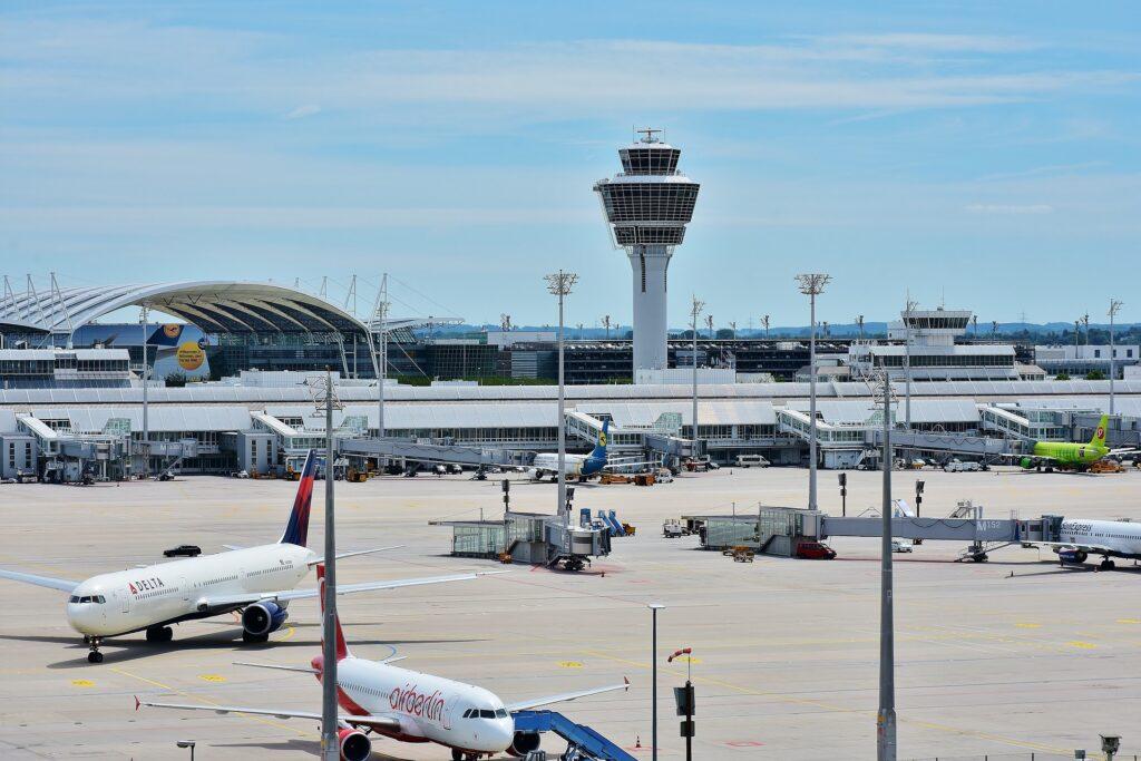Flughafen München Live Abflug Webcam