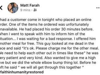 A positive story from Matt