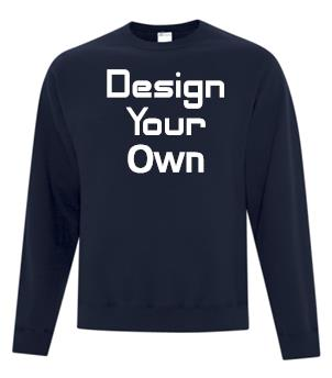 Custom Fleece Crew Neck