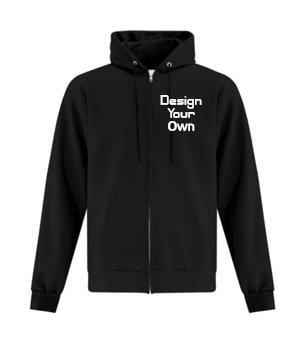 Custom Full Zip Hoodie