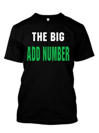 The Big Add Number