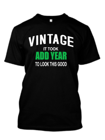 Vintage it Took ADD YEAR to Look This Good