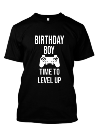 Birthday Boy Time To Level Up