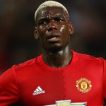 Pogba frowning