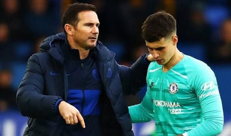 Lampard and Kepa