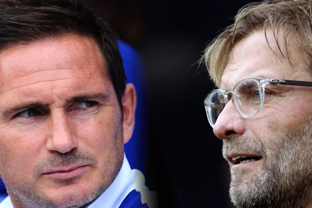 Lampard and Klopp