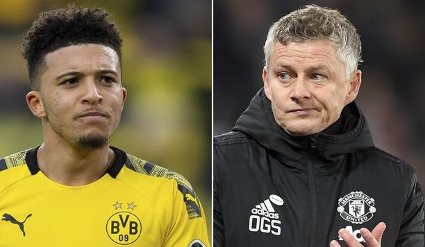 Solskjaer and Sancho