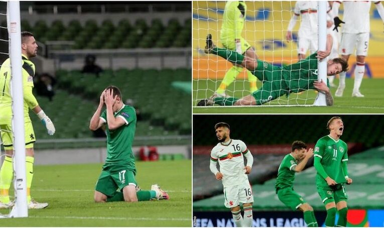 Ireland misses