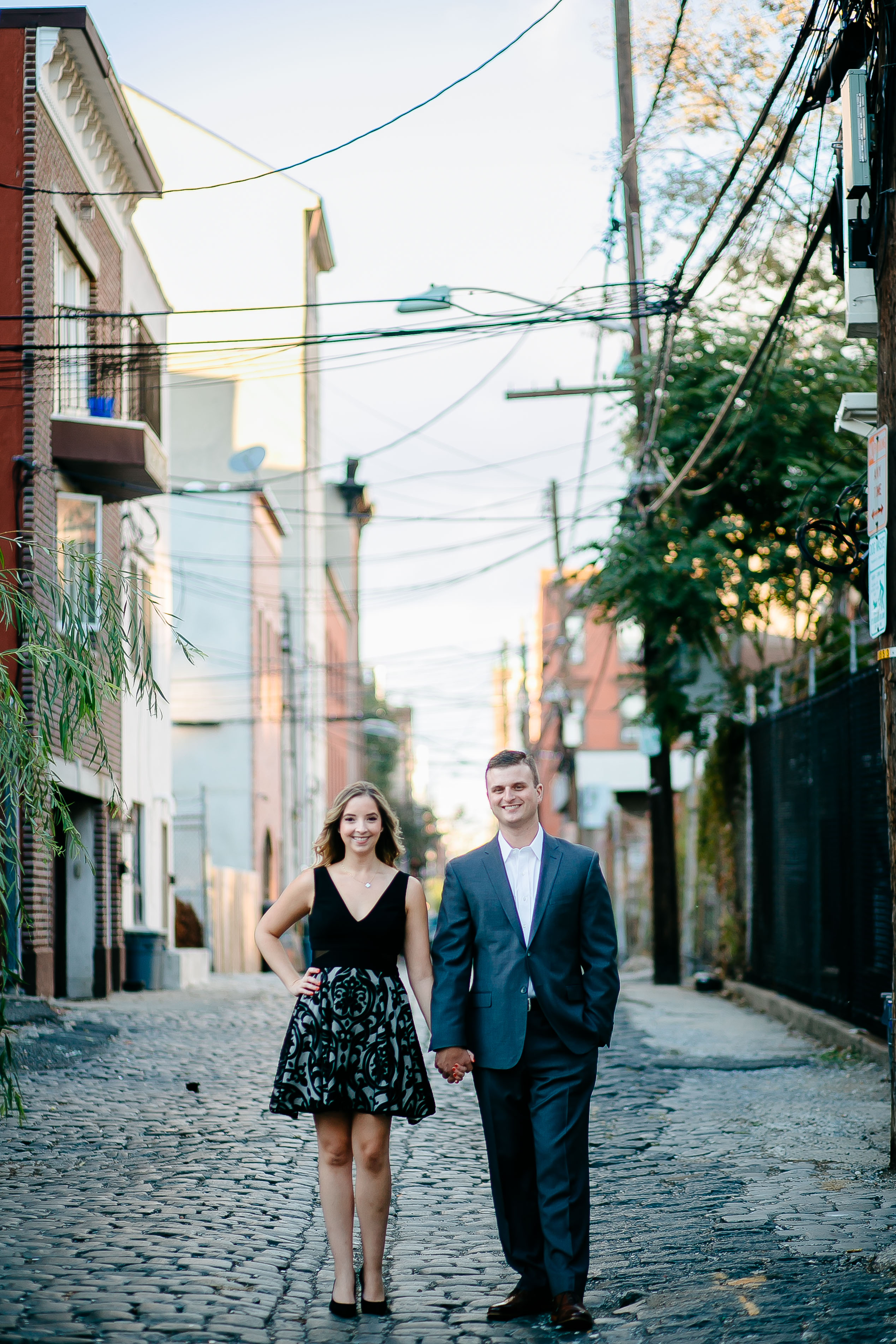 Our Hoboken bride and groom had an amazing engagement photo session and you can read our blog for trips and tricks for yours!