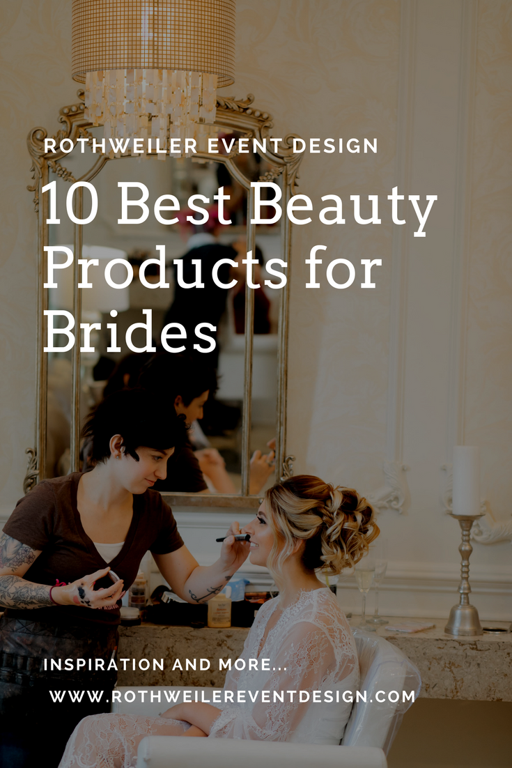Check out our blog featuring our 10 favorite beauty products for every bride to be, and learn where to buy these must-haves if you're engaged to be married!